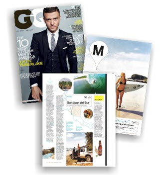 Feature in GQ Magazine