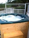 View Larger - Roof Top Hot Tub